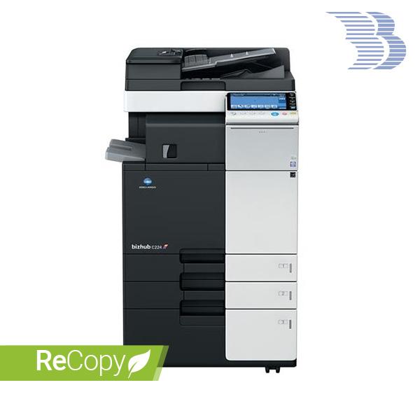 Konica Minolta Bizhub C224 recopy brugt kopimaskine printer multifunktionsmaskine A3